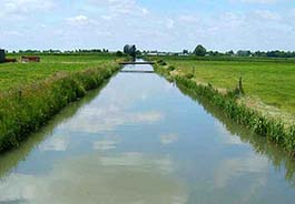 Канал орошения - Пленка для пруда