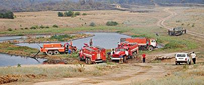 Пожарные водоемы