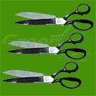 Ножницы, лезвие 15, 24см