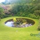Пруд на садовом участке